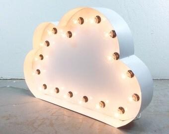 Marquee CLOUD, light up CLOUD, cloud