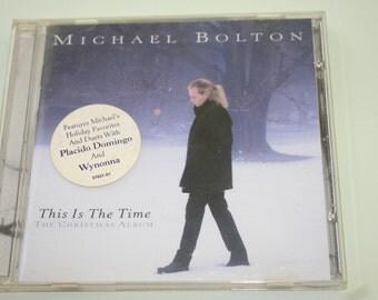 Michael Bolton CD - Christmas Music , Christmas Favorites