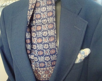 Men's Silk Scarf by Zhensi