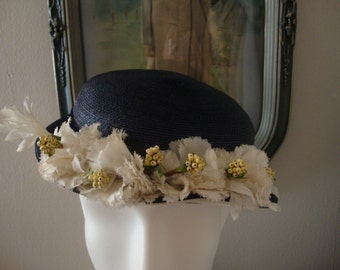 Vintage Straw Hat by Chumley