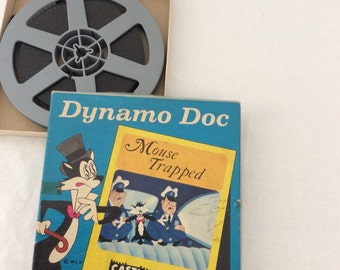 8 mm Castle film  Dynamo Doc Mouse Trapped no 404