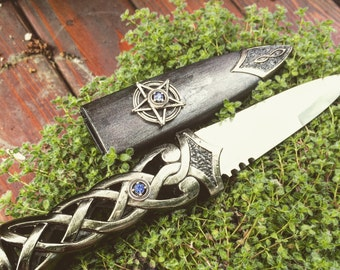 Athame Wiccan Celtic Ceromonial Blade