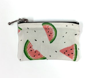 Watermelon Zipper Pouch