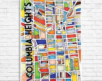 Columbia Heights Neighborhood Map
