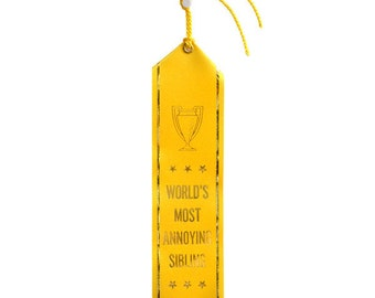 World's Most Annoying Sibling Ribbon
