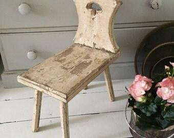 Vintage Rustic Stool