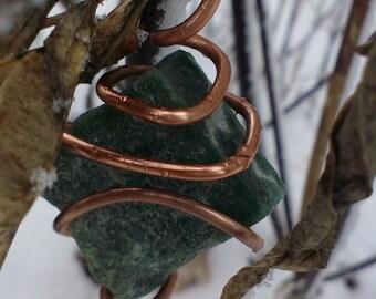 Green Adventurine Amulet