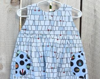 Toddler Bug Dress W/ Pockets