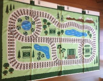 Train set - 5 fabric panels