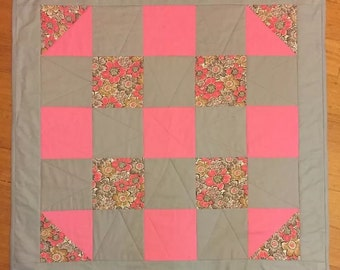 Lap sized quilt
