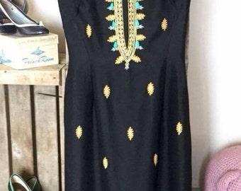 1940's hourglass dress