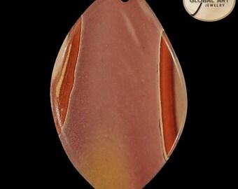 BI01111# 100% Natural Genuine Gemstone Succor Creek Jasper Pendant Bead