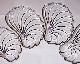 Glass Snack Trays