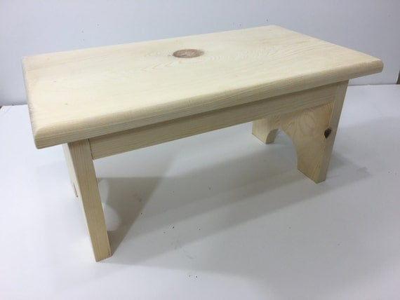 Items Similar To Wooden Step Stool Kitchen Stool Childs