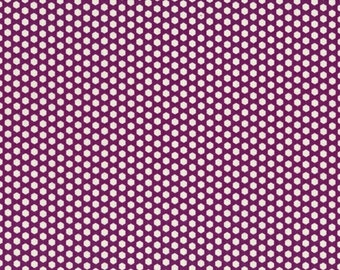 SZ826058 D Purple Dot by Suzuko Koseki Half Yard