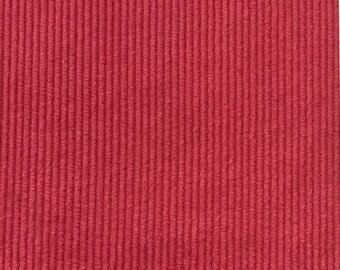 Fuchsia - Corduroy - Upholstery Fabric by the Yard