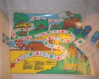 Tupperware's 1988 Li'l Tuppers Travels Game