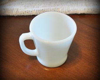 Vintage Anchor Hocking Milk Glass Mug
