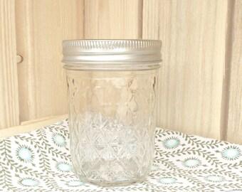 Mason Jar Quilted 240ml / 8oz | Regular