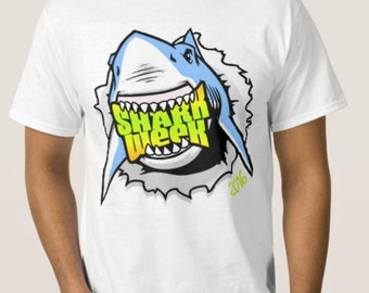 Adult shark week tee