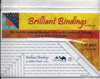 New Brilliant Bindings Binding Tool for all Quilters by Wendt Quilting