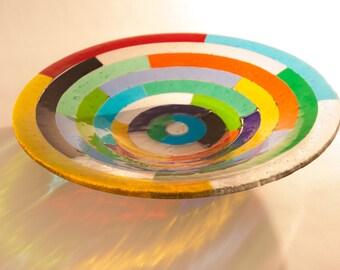 Flat concentric colours