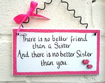 Sister gift big sister gift handmade gifts for Sister wood sign wall decor home decor best friends