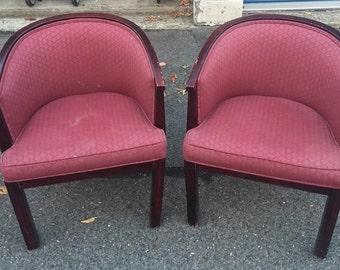 Pair of Vintage Sitting Chairs