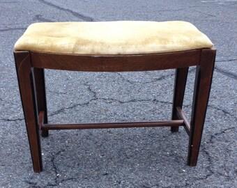 Vintage Vanity stool or bench