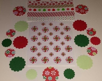 Peppermint Candy Planner Kit