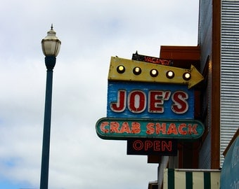 Photograph - Metallic Print - Joe's Crab Shack
