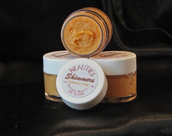 All Natural Gold/Bronze Lip Gloss by Neauties ~ Color: Sandstone