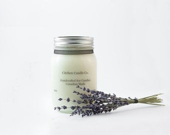12oz Lavender Fields Scented Soy Candle