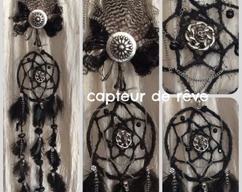 Gothic dream sensor black feathers