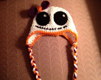 Halloween Ghost Infant crochet hat