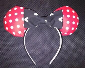 Polke Dot  Mickey Ears