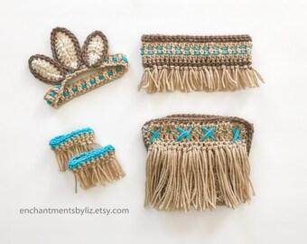 Crochet Native American Costume