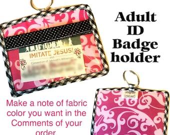 ID badge holder-ADULT