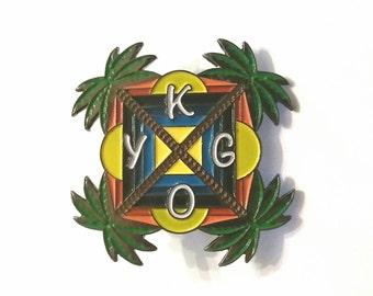 Kygo Palm Tree Hat Pin