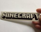 Minecraft Inspired Decal Sticker Minecraft Inspired Wall Decal Laptop Sticker Nursery Sticker Kids Room Sticker Minecraft Gift