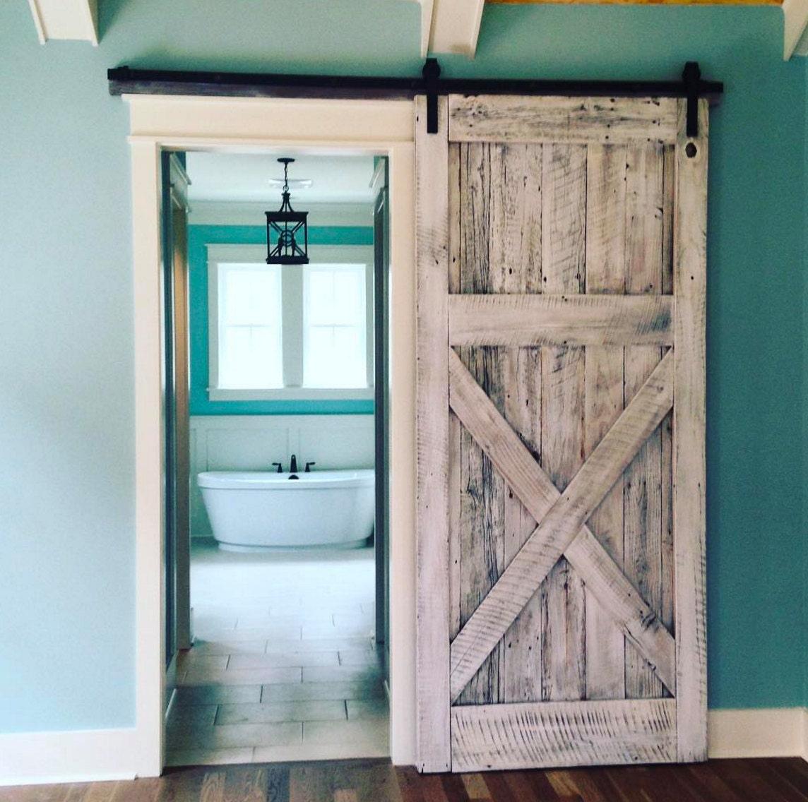 Reclaimed Oak Barn Door