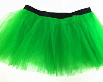Green Tutu, Adult Tutu, Teen Tutu, Running Tutu, St. Patricks Day Tutu, Running Skirt, Running Tutu, Running Costume
