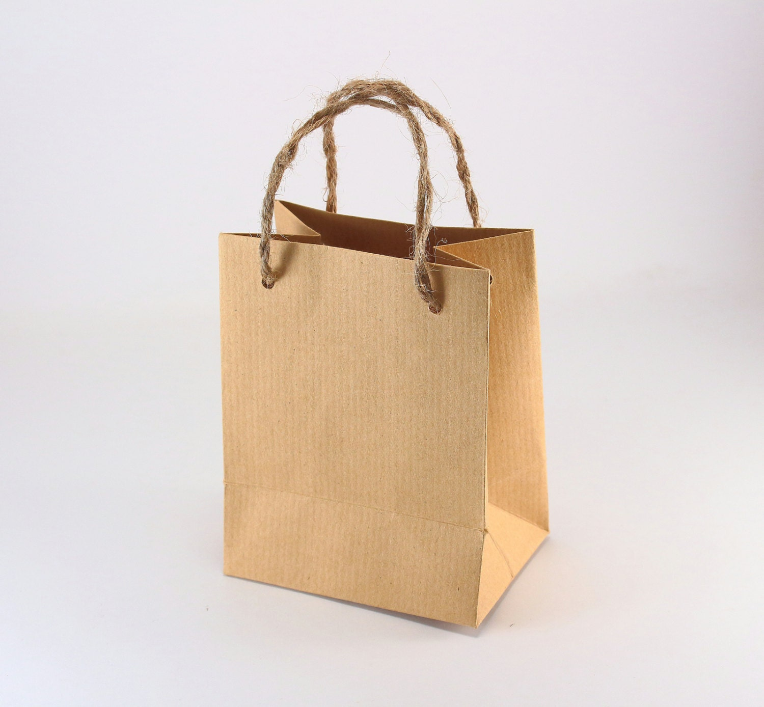 Wedding Gift Bags With Handles : 100 Rustic Wedding Favor Bags w/ Handles Extra Small Kraft