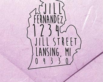 20% OFF NOW Maine Address Stamp - Custom Maine Address Stamp - Maine Custom Stamp - Maine Stamp - (DBJ_175_Maxs5050)