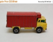 ON SALE No.44 GMC Refrigerator Truck Superfast by Matchbox Lesney England 60's toy Car Great Gift Idea Stocking Stuffer for him
