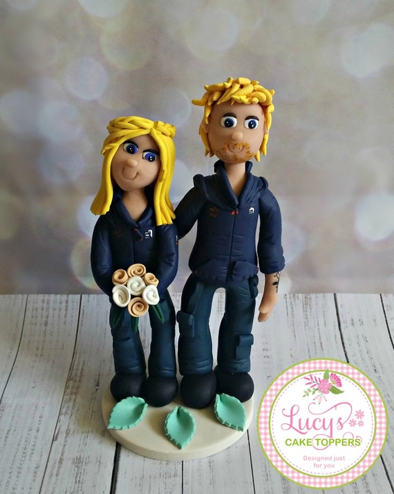 Wedding cake Topper - Uniform or Themed - Fully Personalised a lovely keepsake