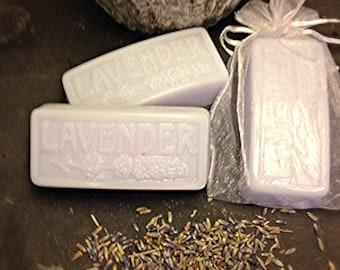 Handmade Lavender Soap Bars, Valentine Gift For Her