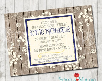 Shabby Chic Bridal Shower Invite