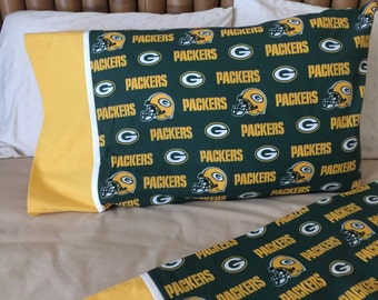 Green Bay Packers Standard Size Pillow Case