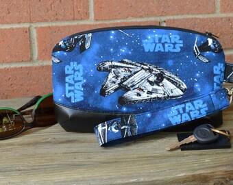 Star Wars Classic Zipper Wristlet Purse